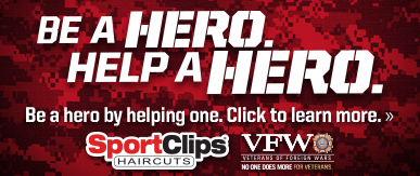 Sport Clips Haircuts of Dallas - Old Town​ Help a Hero Campaign
